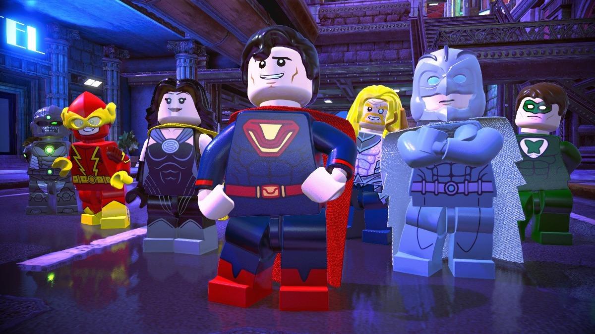 Juegos Lego Dc Super Villanos Playstation 4 2 059 00 En