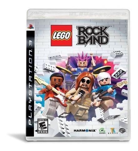 juegos,lego rock band - playstation 3