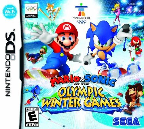 Juegos Mario Y Sonic En Los Juegos Olimpicos De Invierno