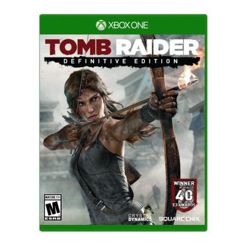 juegos,tomb raider definitive edition - xbox one estánda..