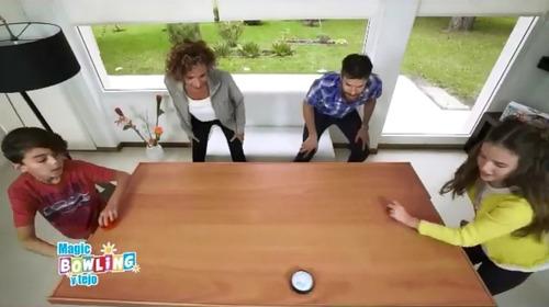 jueguete juego 2 en 1 magic bowling tejo luz babymovil