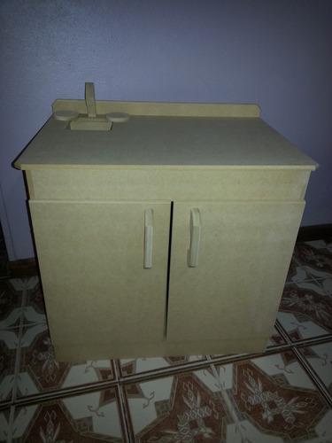 jueguitos de cocinas de madera para pintar por unidad