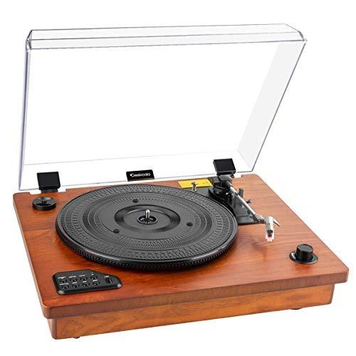 jugador de grabacion - geekoala mesa giratoria reproductor d