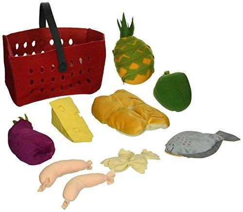 jugar comida,carrito set de 11 piezas