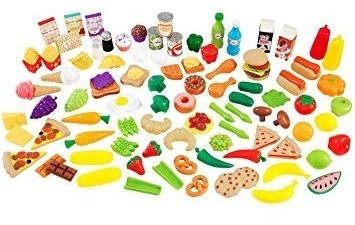 jugar comida,kidkraft tasty treats set de juegos de alim..