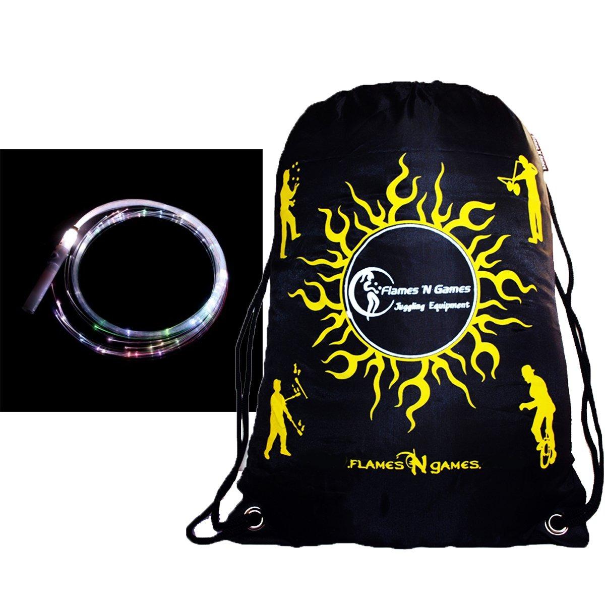 ... Juggle Light Medium 1 8m Fiber Optic Glow Whip Travel Bag Matto 10 Piece Makeup Brush