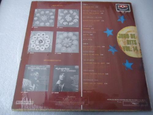 jugo de hits vol. 14 vinyl lp acetato