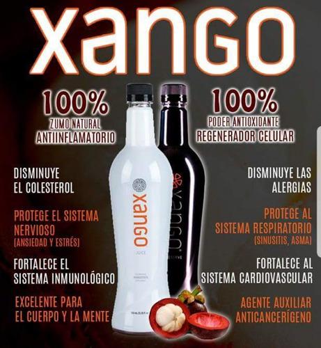 jugo de mangostan xango clasico