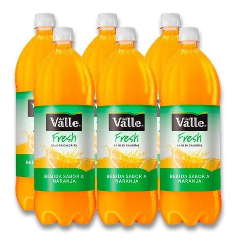 jugo del valle fresh naranja pet 1.5l 6 unidades.
