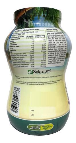 jugo verde mix piña colada 2 kg solanum