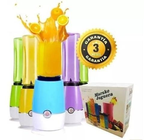 juguera batidora licuadora personal portatil 2 vasos colores