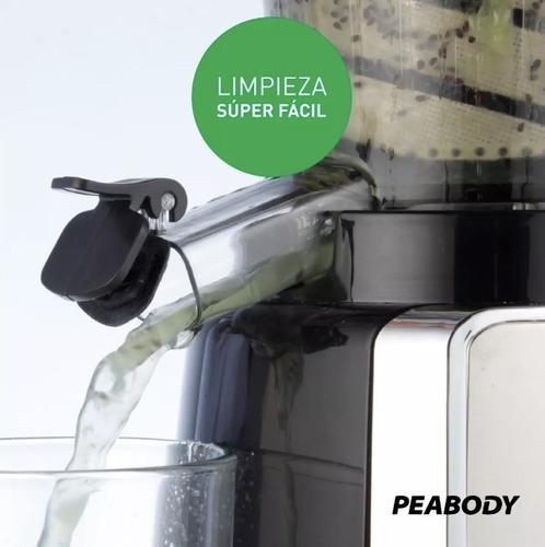 juguera peabody pe-sj25i masticadora slow juicer jugo prensa