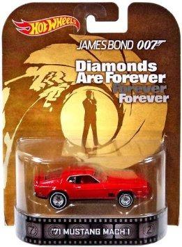 juguete 1971 mustang mach 1 de james bond 007
