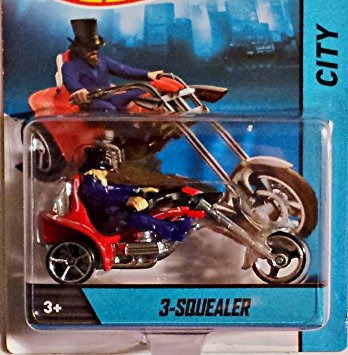 juguete 3-squealer (rojo