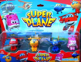 4 Planes Wings Figura Muñecos Super Avion Juguete HeDE9YbIW2