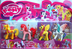 Set Juguete 4 Pony Equestria Girl Little Twiligth My Pinkie OiukZPX