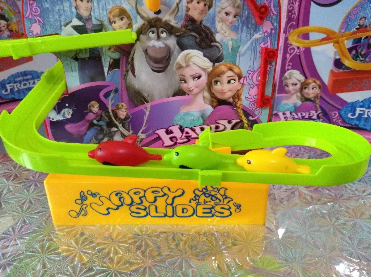 Juguete Video Tobogan Delfines Ver A Luz Pila Musica Frozen lcKJF1