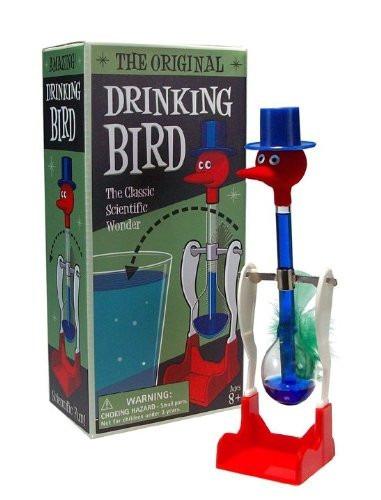 juguete accesorio de oficina antiestres el pato que bebe