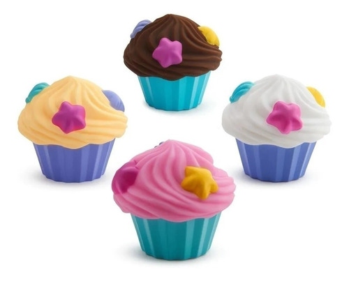 juguete agua baño cupcakes flotadores munchkin by creciendo