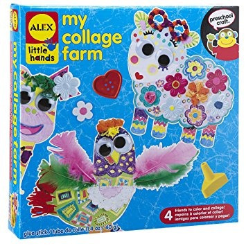 juguete alex juguetes little hands mi collage de la granja