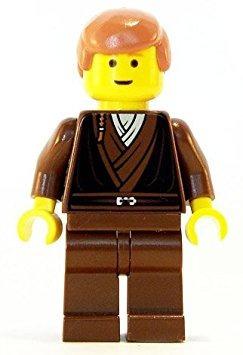 juguete anakin skywalker (padawan trenza patrón) - lego sta
