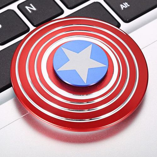 juguete anti estres spinner capitan america ironman hulk