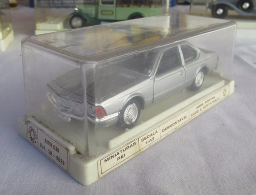 juguete antiguo bmw 630 1/43, brinquedos rei brasil, gotech