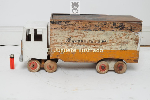 juguete antiguo camion