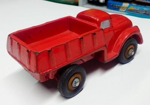 juguete antiguo camion anmax/duravit reparado y repintado