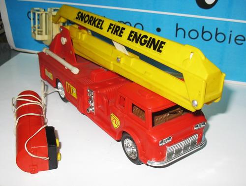 juguete antiguo camion de bomberos - lincoln international