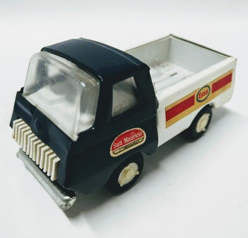 juguete antiguo camion de lata esso san mauricio