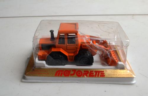 juguete antiguo cargador frontal carrito majorette diecast