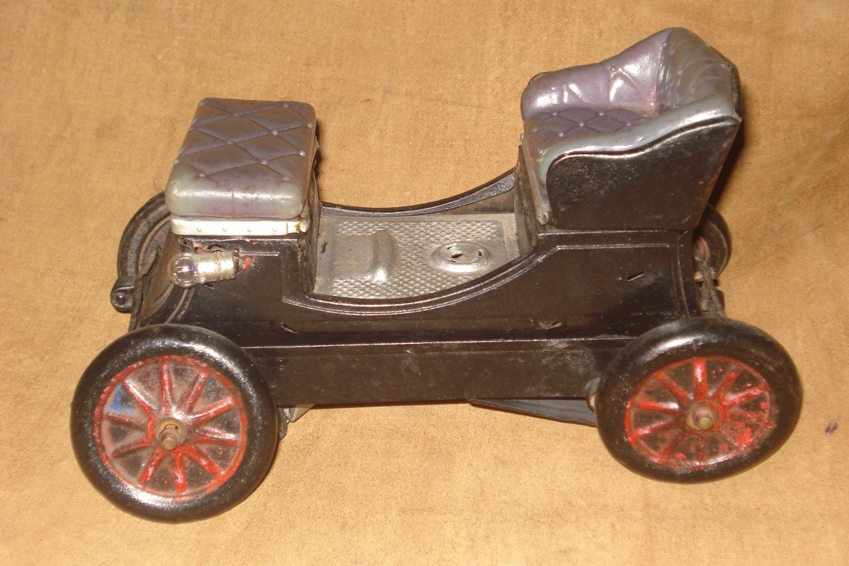 Juguete Antiguo Carro De Lata S 40 00 En Mercado Libre