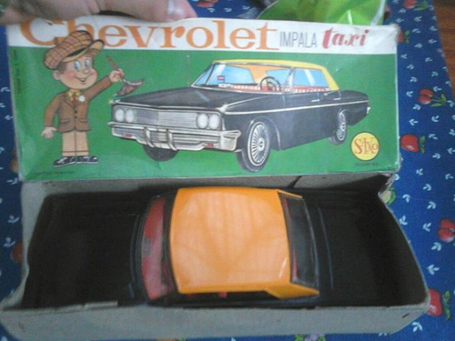 juguete antiguo como nuevo en su caja original impala