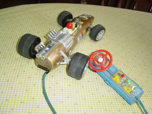 juguete antiguo de lámina   f1 de bandai japones lámina