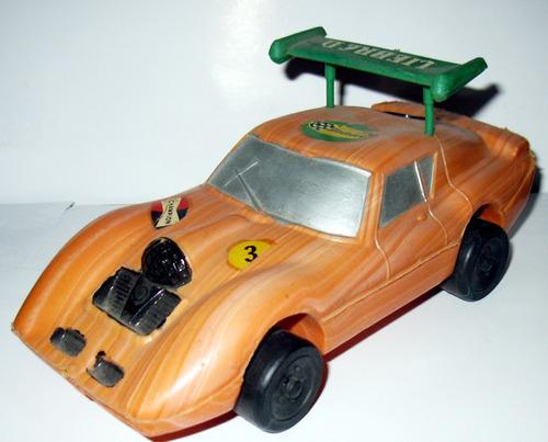 juguete antiguo de plastico inflado baufer sp