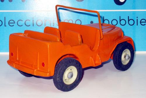 juguete antiguo jeep duravit