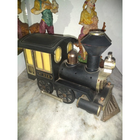 Juguete Antiguo, Locomotora A Pilas