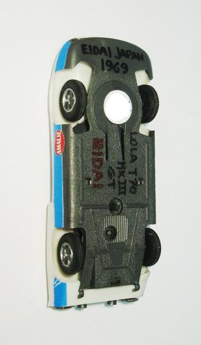 juguete antiguo lola t70 mk iii - eidai (japan)