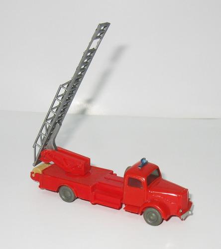 juguete antiguo lote de camiones - 1/87 wiking (germany)