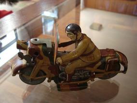 Juguete Motocicleta Alemana 1930 Antiguo Colección ikOXZuwPT