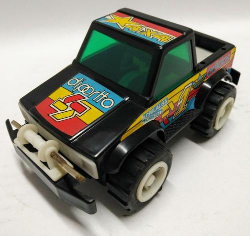 juguete antiguo pick up a friccion 4x4 valtoys ind argentina