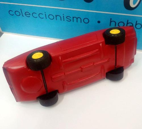 juguete antiguo renault coupe fuego - plastico inflado