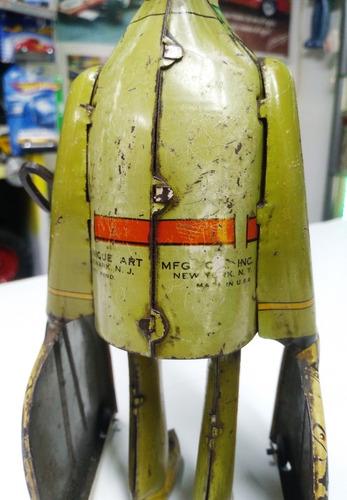 juguete antiguo soldado gi-joe de lata litografiado usa