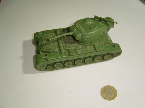 juguete antiguo tanque de plástico