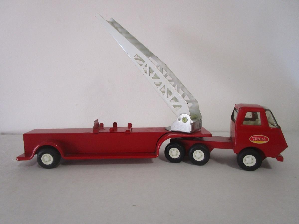 Juguete Antiguo Tonka Coleccion Camion Carro Bomberos Usado