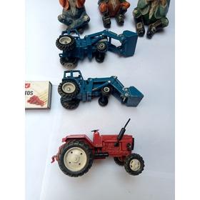 Juguete Antiguo Tractor Metal Varios Lote
