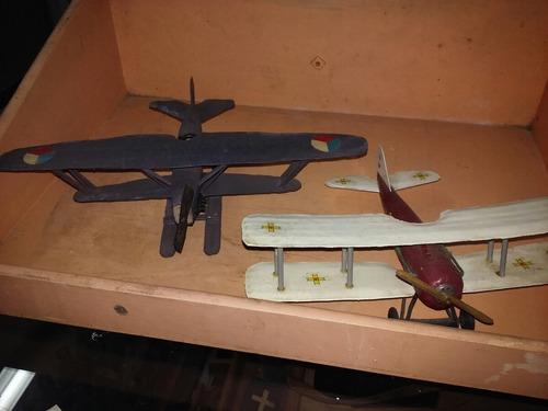 juguete, antiguos aviones
