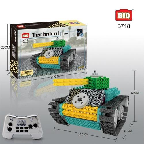 juguete armable con bloques con control remoto
