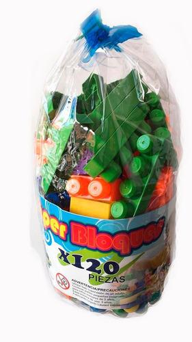 juguete armotodo didáctico 120 pzs súperbloques envío gratis